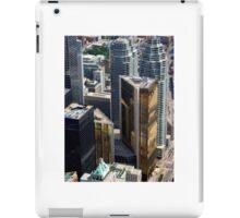 Financial heart of Toronto Bay street iPad Case/Skin