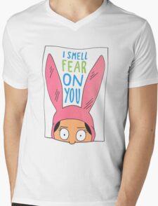 Louise Belcher: I Smell Fear On You Mens V-Neck T-Shirt