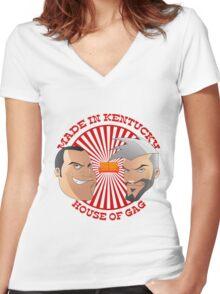 #HOG Women's Fitted V-Neck T-Shirt