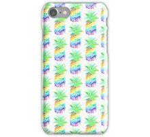Rainbow Pineapples iPhone Case/Skin
