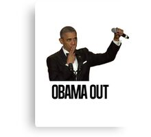 Obama Out Canvas Print