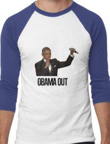 Obama Out Men's Baseball ¾ T-Shirt