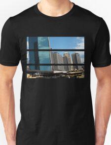 Cartooned Sydney Skyscrapers Unisex T-Shirt
