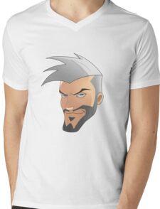 Omar! Mens V-Neck T-Shirt
