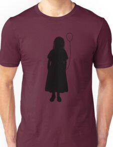 Silhouette girl Unisex T-Shirt