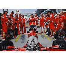 Scuderia Ferrari Marlboro F1 team Photographic Print