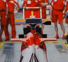 Scuderia Ferrari Marlboro F1 team Sticker