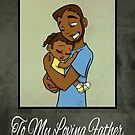 """""""First Father's Day with Daughter"""" Card by treasured-gift"""