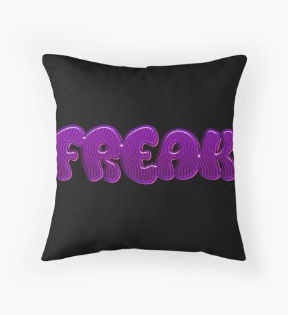 Freak Throw Pillow