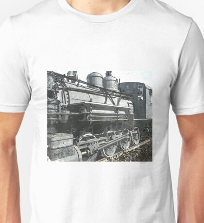 Vintage Steam Locomotive Unisex T-Shirt