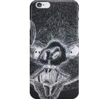 Creepy Bat (Invert) iPhone Case/Skin