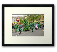 Jack In The Green parade, Hastings Framed Print