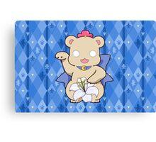 Lucky Bear Kureha Canvas Print
