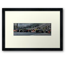 Start of Grand Prix Spain Framed Print