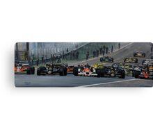Start of Grand Prix Spain Canvas Print