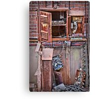 A Collaboration Of Rust Canvas Print