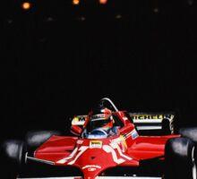 Gilles Villeneuve, Monaco GP, 1981 Sticker