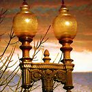 Evening Lamppost by Marie Sharp