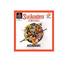 Suikoden European Cover Art Photographic Print