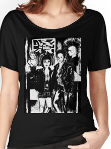 Alternative fashion and leather jacket style at the club Women's Relaxed Fit T-Shirt