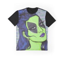 Alien Girl Graphic T-Shirt
