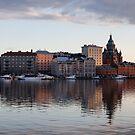 Helsinki Skyline by Johannes Valkama