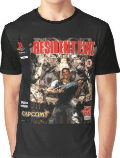Resident Evil Original Destressed Graphic T-Shirt