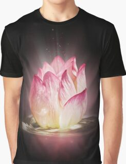 Floating Tulip Graphic T-Shirt