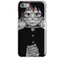 Izuku Midoriya - Boku no Hero Academia   My Hero Academia (Normal Design) iPhone Case/Skin