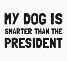 Dog Smarter President Kids Tee