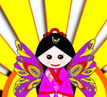 Chinese Fairy Doll in Sunshine T-shirt, etc. design Sticker
