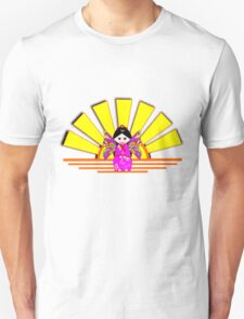 Chinese Fairy Doll in Sunshine T-shirt, etc. design Unisex T-Shirt