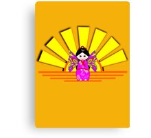 Chinese Fairy Doll in Sunshine T-shirt, etc. design Canvas Print
