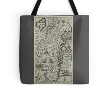 Map of the English Empire in America 1685 Tote Bag