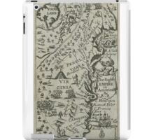 Map of the English Empire in America 1685 iPad Case/Skin