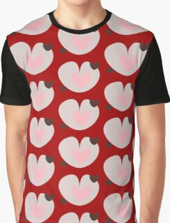 heart pink brown Graphic T-Shirt