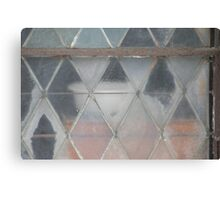 Frost Stain Canvas Print