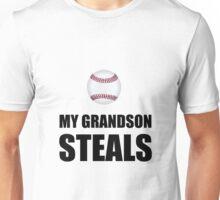 Grandson Steals Baseball Unisex T-Shirt