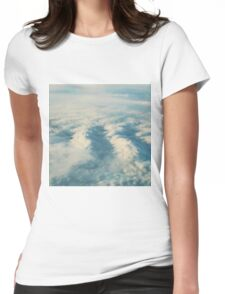 Cloud Sea Womens Fitted T-Shirt