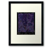 USGS TOPO Map Alabama AL Houston 304204 2000 24000 Inverted Framed Print