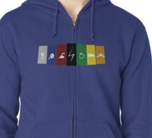 The Horcux's Zipped Hoodie