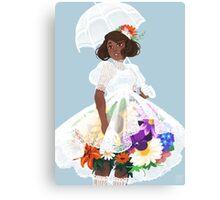 Bouquet Belle Canvas Print
