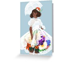 Bouquet Belle Greeting Card