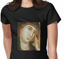 The Crevole Madonna Womens Fitted T-Shirt