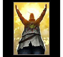 Praise The Sun Dark Souls Photographic Print