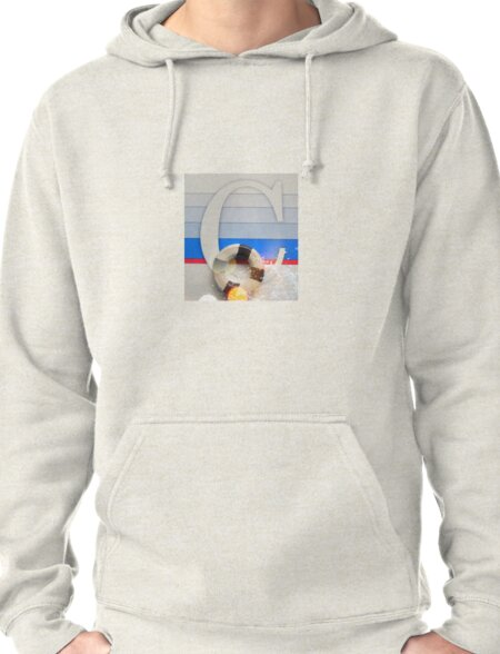 Initial C Nautical style Pullover Hoodie