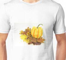 Thanksgiving, Fall. Autumn etude with pumpkin. Unisex T-Shirt