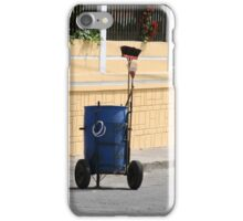 Street Cleaning Garbage Bin iPhone Case/Skin