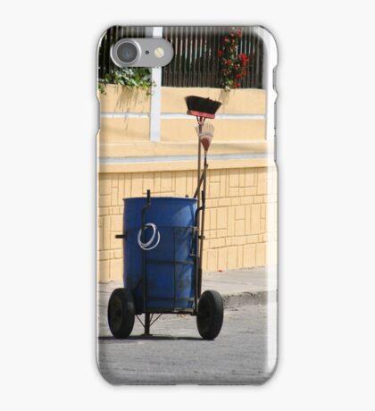 Street Cleaning Garbage Bin iPhone Case/Skin