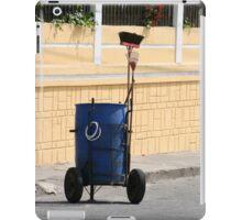 Street Cleaning Garbage Bin iPad Case/Skin